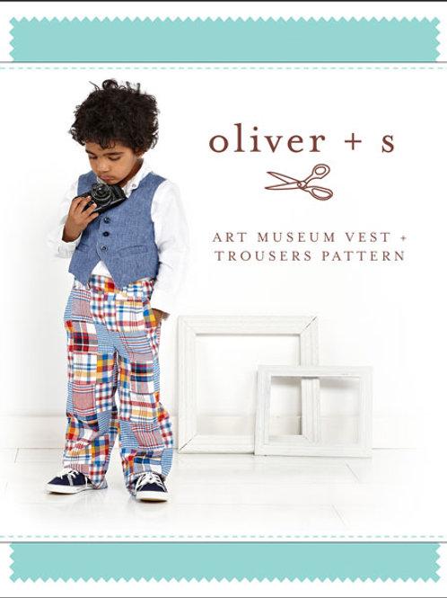 Art Museum Vest + Trousers