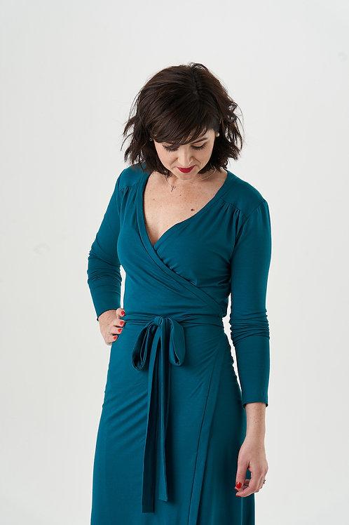 Meredith Wrap Dress Pattern