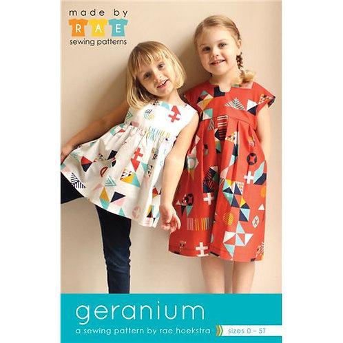 Geranium Girls Dress