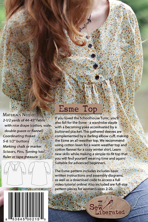 Esme Top Pattern