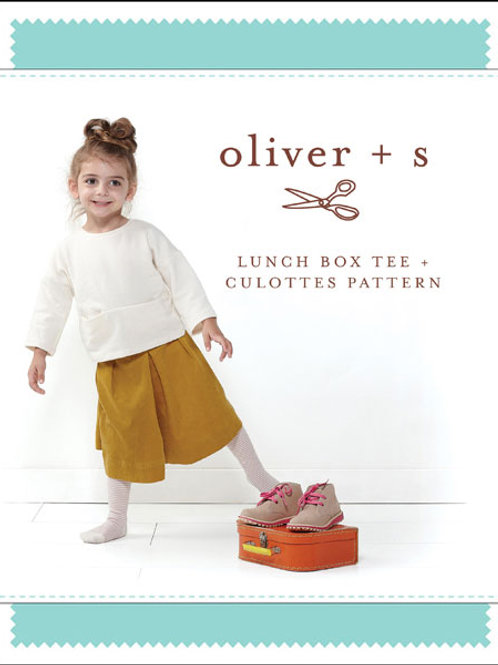 Lunch Box Tee + Culottes