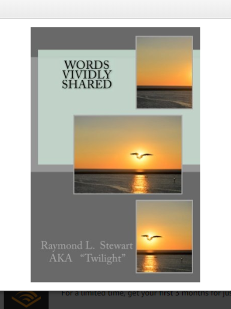 Words Vividly Shared  by Raymond L. Stewart