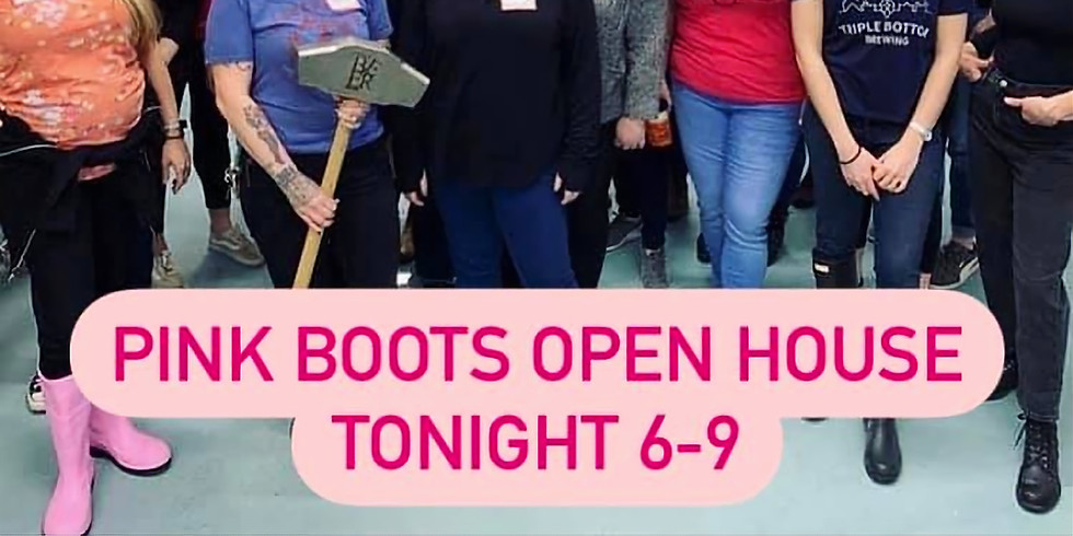 Pink Boots Open House
