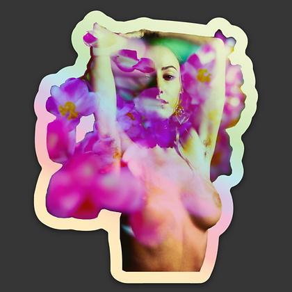 In My Mind Holographic Sticker