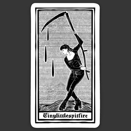 Reaper Tarot Sticker