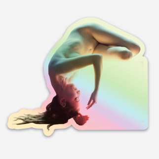 On the Bright Side Holographic Sticker