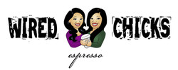 Wired Chicks Espresso logo, etc