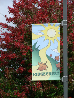 Ridgecrest Neighborhood Banners