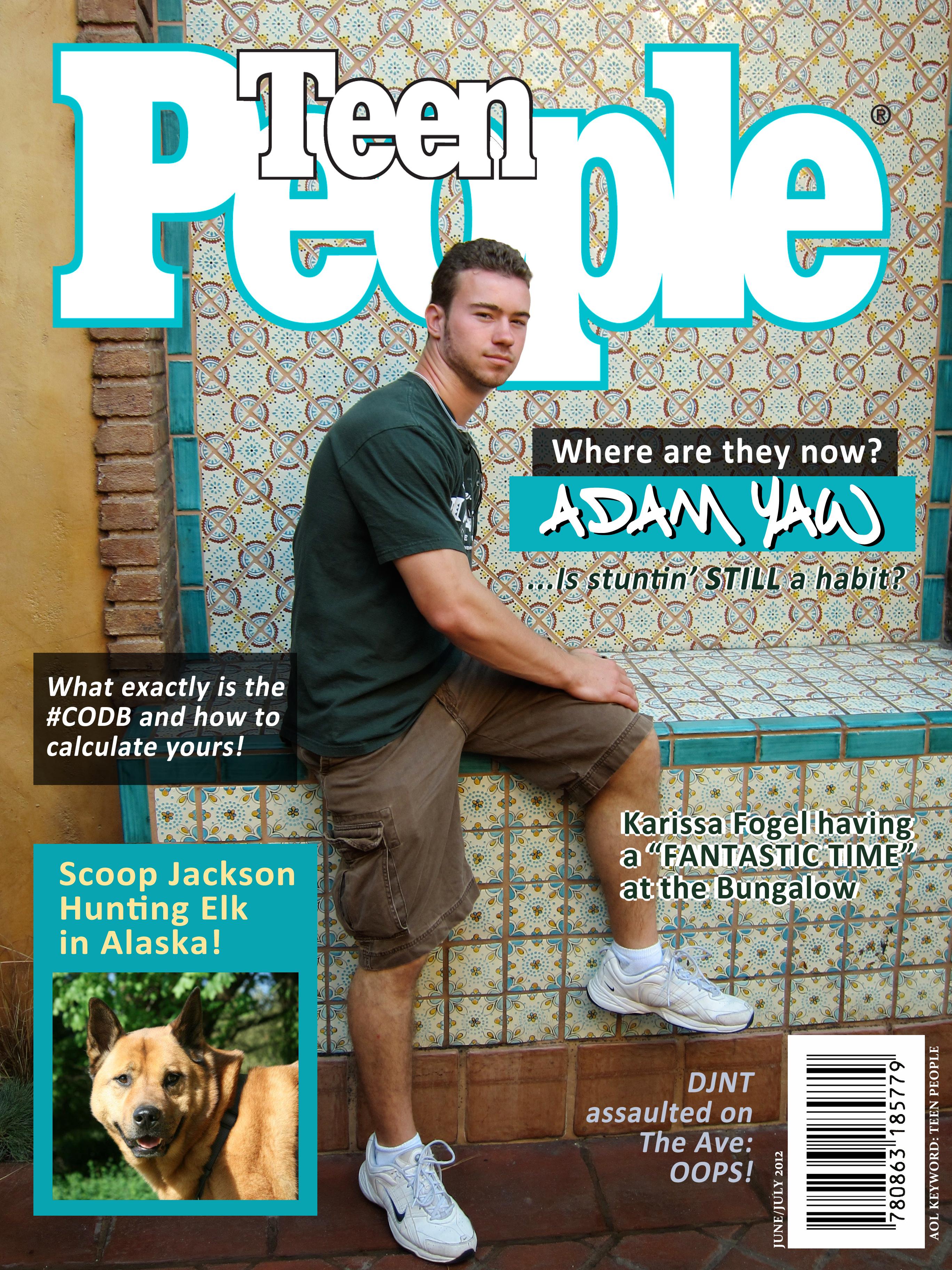 People Magazine Parody
