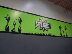REACT Wall Mural