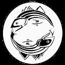 Zen Chartrs logo - ying and yang fish