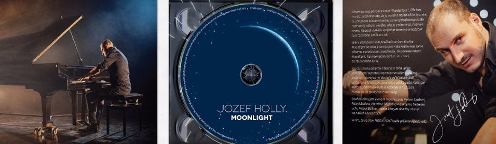 Jozef Holly Piano Show CD Moments Moonlight Film shop kupit