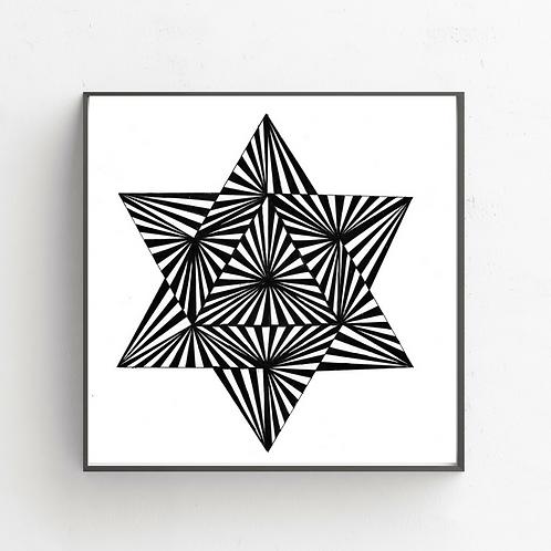 Star Of David on  Poster