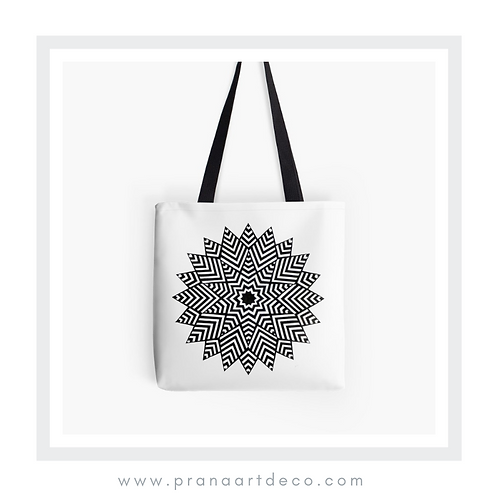 Nested Stars on Tote Bag