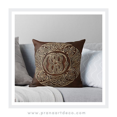 Auryn on Throw Pillow