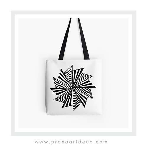 12 Pointed Star on Tote Bag