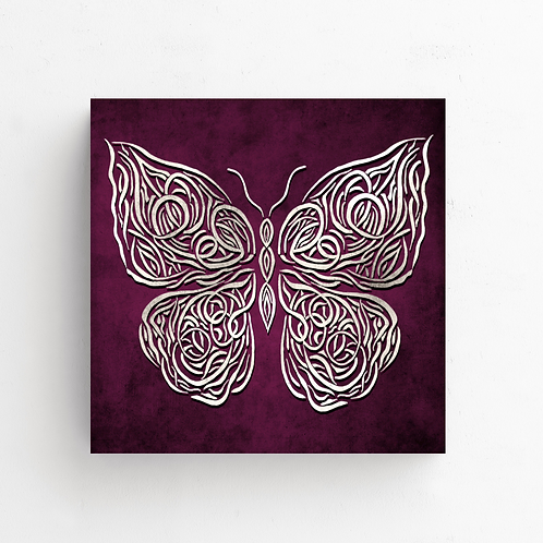 Celtic Butterfly on Poster