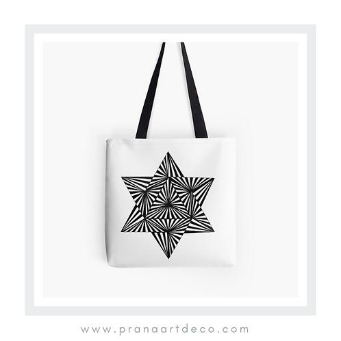Star Of David on Tote Bag