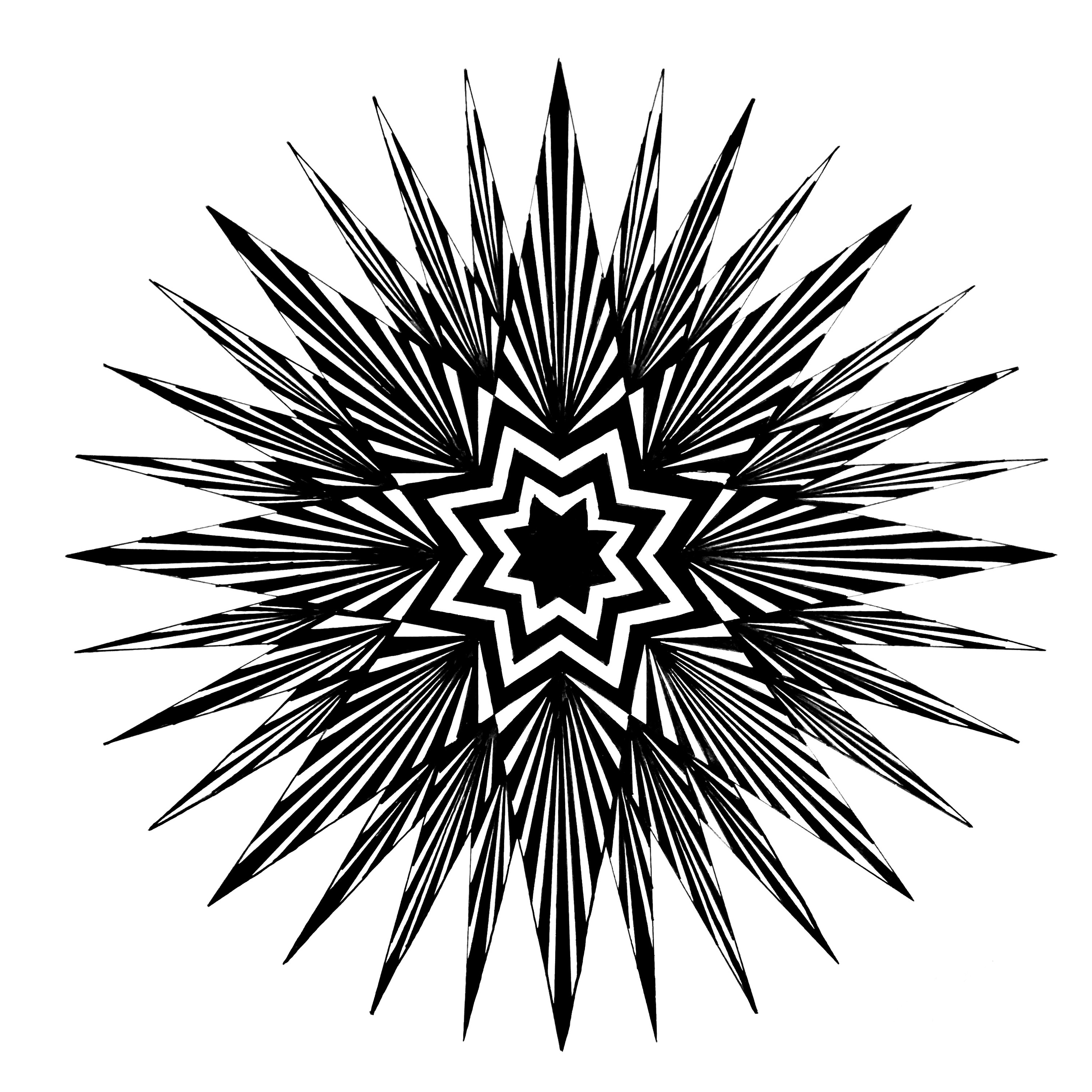 32 Pointed Star