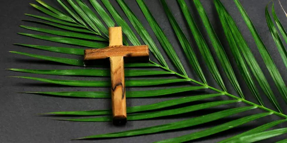 Palm Sunday Church Birthday drive thru
