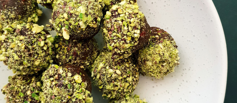 Chocolate Pistachio Bites
