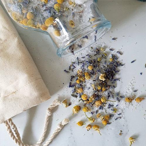 Organic Lavender and Chamomile Herbal Bath Tonic