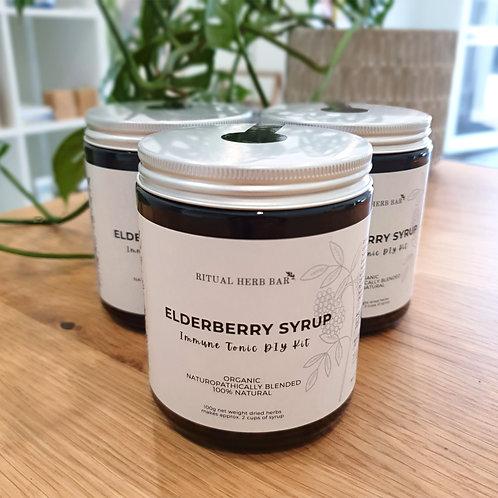 Elderberry Syrup Immune Tonic