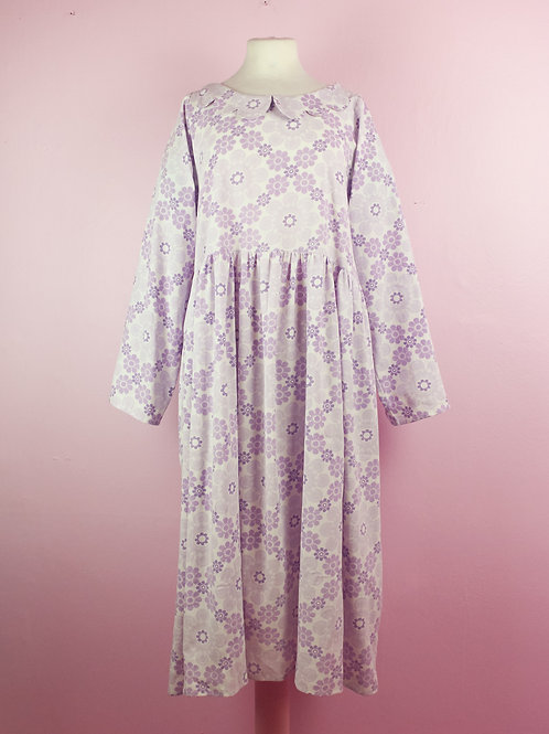 Soft snowflake - DOLLY DRESS - L/XL