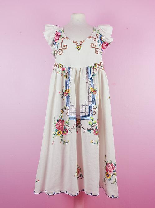 Royal - POP ON PINAFORE Dress - S/M
