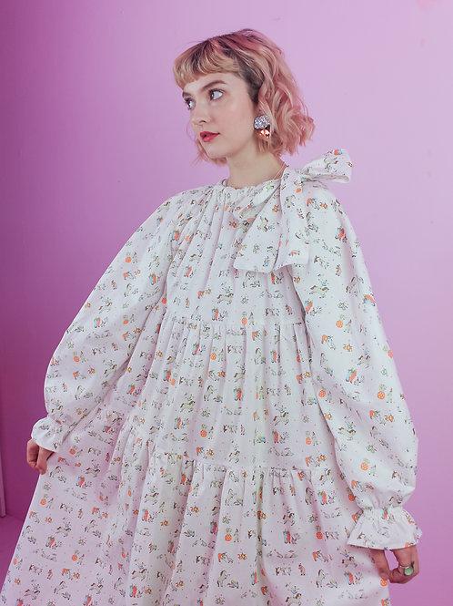 Tiny Circus daze - BOW WOW dress