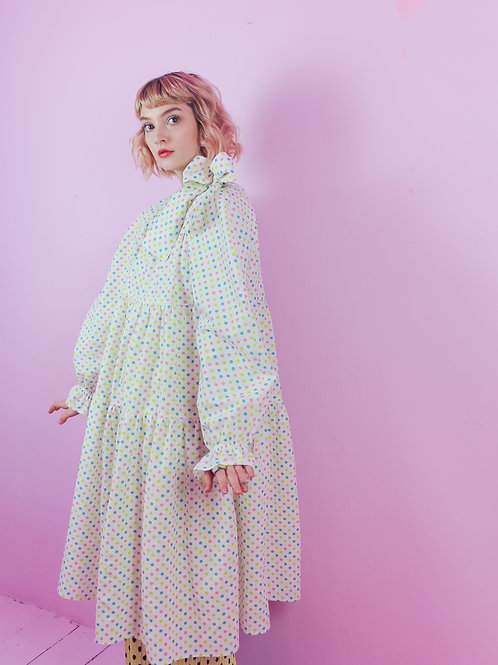 Rainbow dots daze - BOW WOW dress