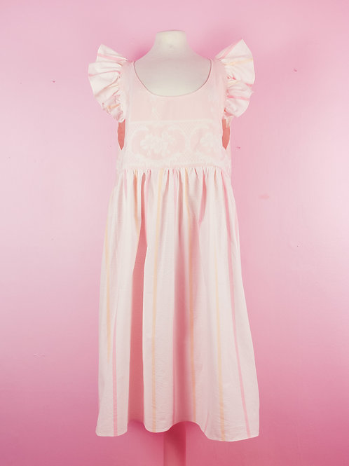 Pastel pink - POP ON PINAFORE dress L/XL