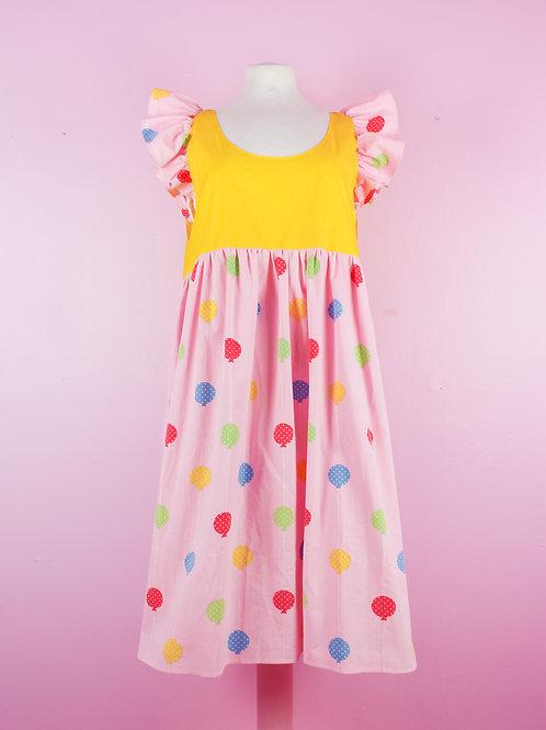 Bright - POP ON PINAFORE Dress - S/M
