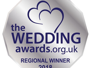 I WON REGIONAL WINNER in the South atthe wedding awards in Liverpool so happy and very proud