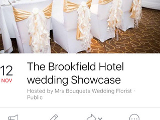 Lovely local and friendly #weddingfarye at #Thebrookfield hotel on Nov 12th at 12.30-4 pm some of th