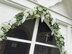 flower arches for venue