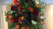 Love this time of the year beautiful colours this weekends wedding #farbridge