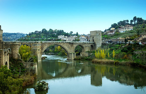 Weinstein - Puente de San Martin, Toledo, Spain