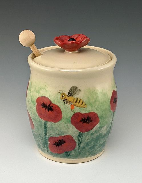 Swan - Poppy Honey Jar