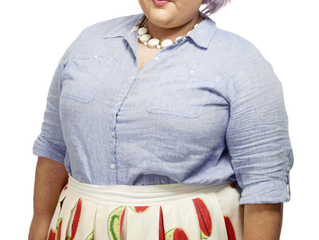 Hit the Runway with our September Curvy Girl of the Month - Ashley Nell Tipton