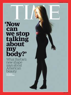 Time Magazine Barbie Cover
