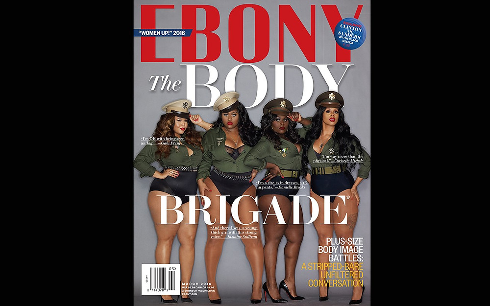 Ebony Magazine Cover Plus Size Women