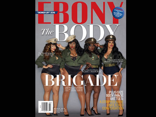 Ebony Magazine's Bold Beautiful Curvy Cover