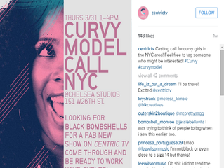Inside Centric TV's Curvy Style Reality Show Casting