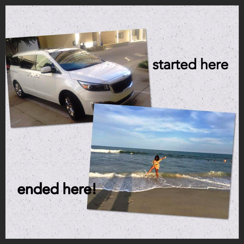Kia Sedona Beach