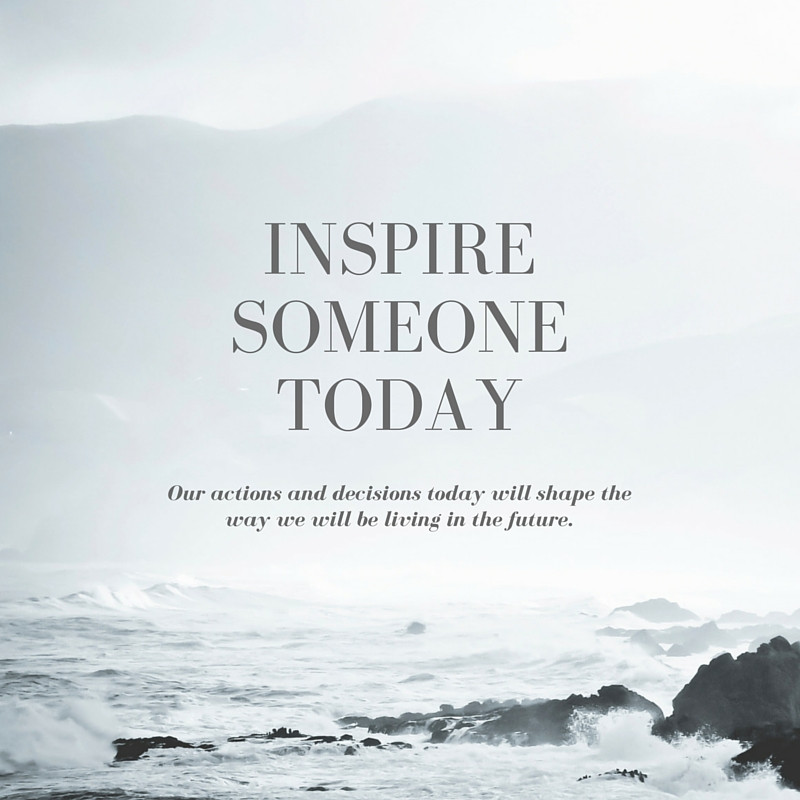 Inspirational Quote on Inspiration
