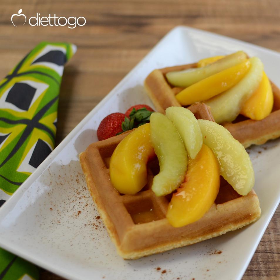 diet to go, waffle breakfast