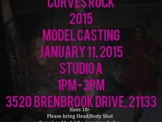 Rock Your Curves at Curves Rock Fashion Show-  MODEL CALL 1/11/15