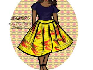 Illustrated Fashion Tour - Curvy Girl Style