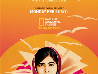 Monday Motivation - He Named Me Malala Television Premiere